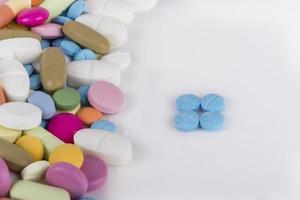 pílulas de remédios foto