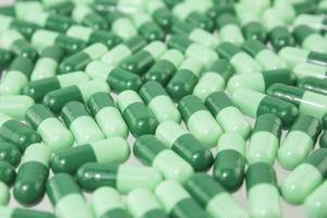 cápsula de medicamento foto
