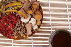 medicina herbal chinesa foto
