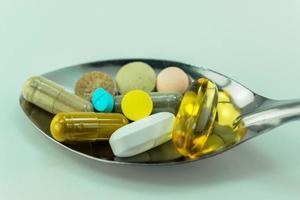 comprimidos medicinais foto