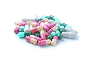 cápsulas medicinais, comprimidos foto