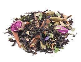coletando chá medicinal foto