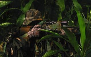 atirador da selva foto