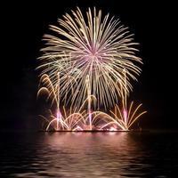 fogos de artifício comemoração