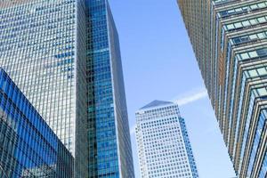 escritório comercial de arranha-céus, edifício corporativo na cidade de londres, inglaterra, reino unido foto