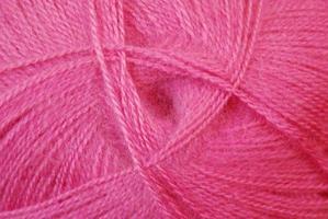 lã rosa foto
