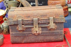 close-up de bloqueio seguro - estilo vintage