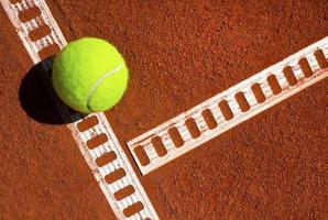 bola de tênis foto