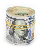 contas em dólar foto