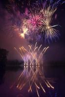ótimo fogo de artifício foto