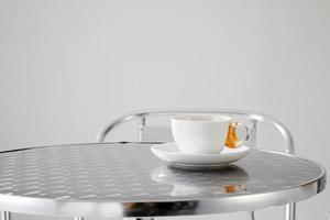 chá da manhã foto