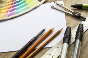 ferramentas de desenho foto
