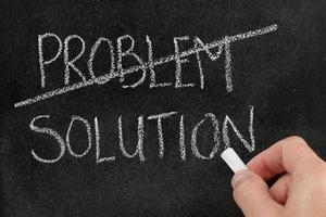 encontrar solução para o problema