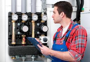 manutenção técnica caldeira de aquecimento