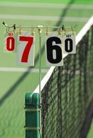 pontuação do tênis foto