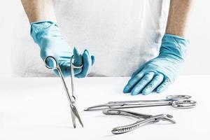 Instrumentos cirúrgicos foto