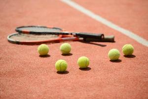 quadra de tênis foto