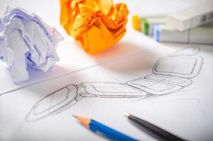 desenho de designer foto