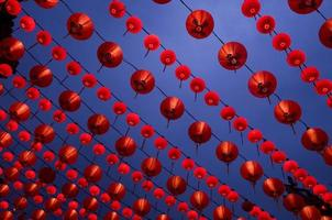 lanternas vermelhas foto