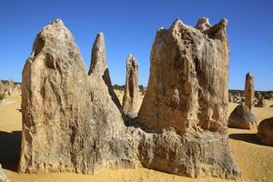 pináculos deserto foto
