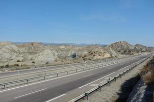 estrada deserta foto