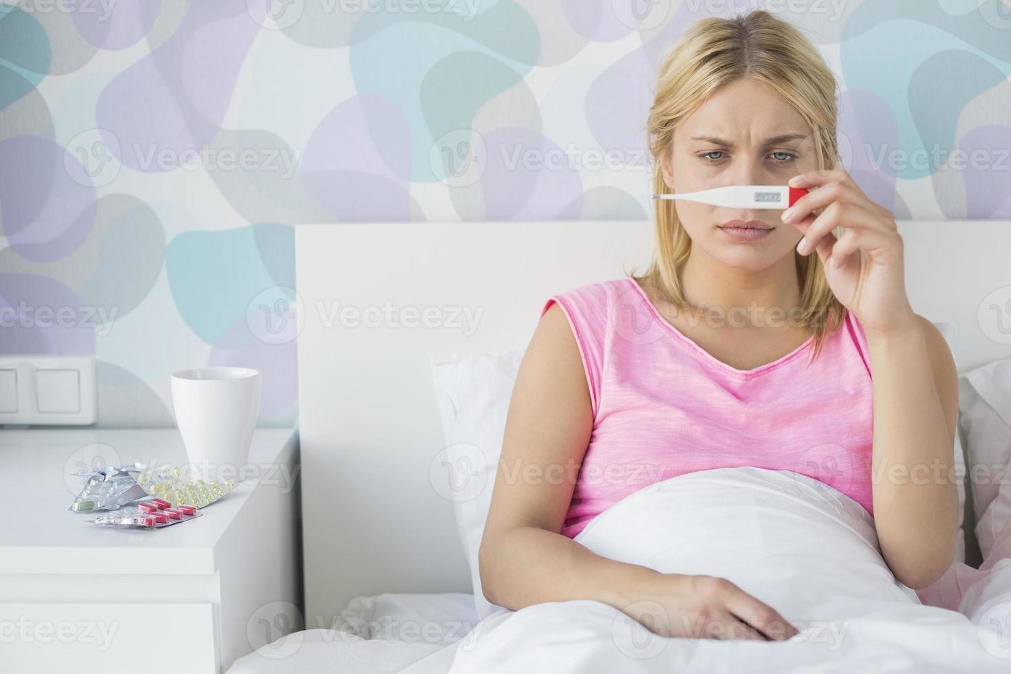 krank zu Hause foto