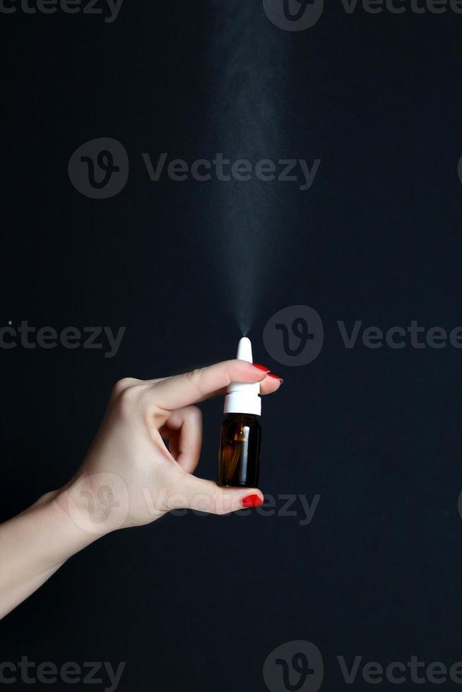 Nasenspray foto