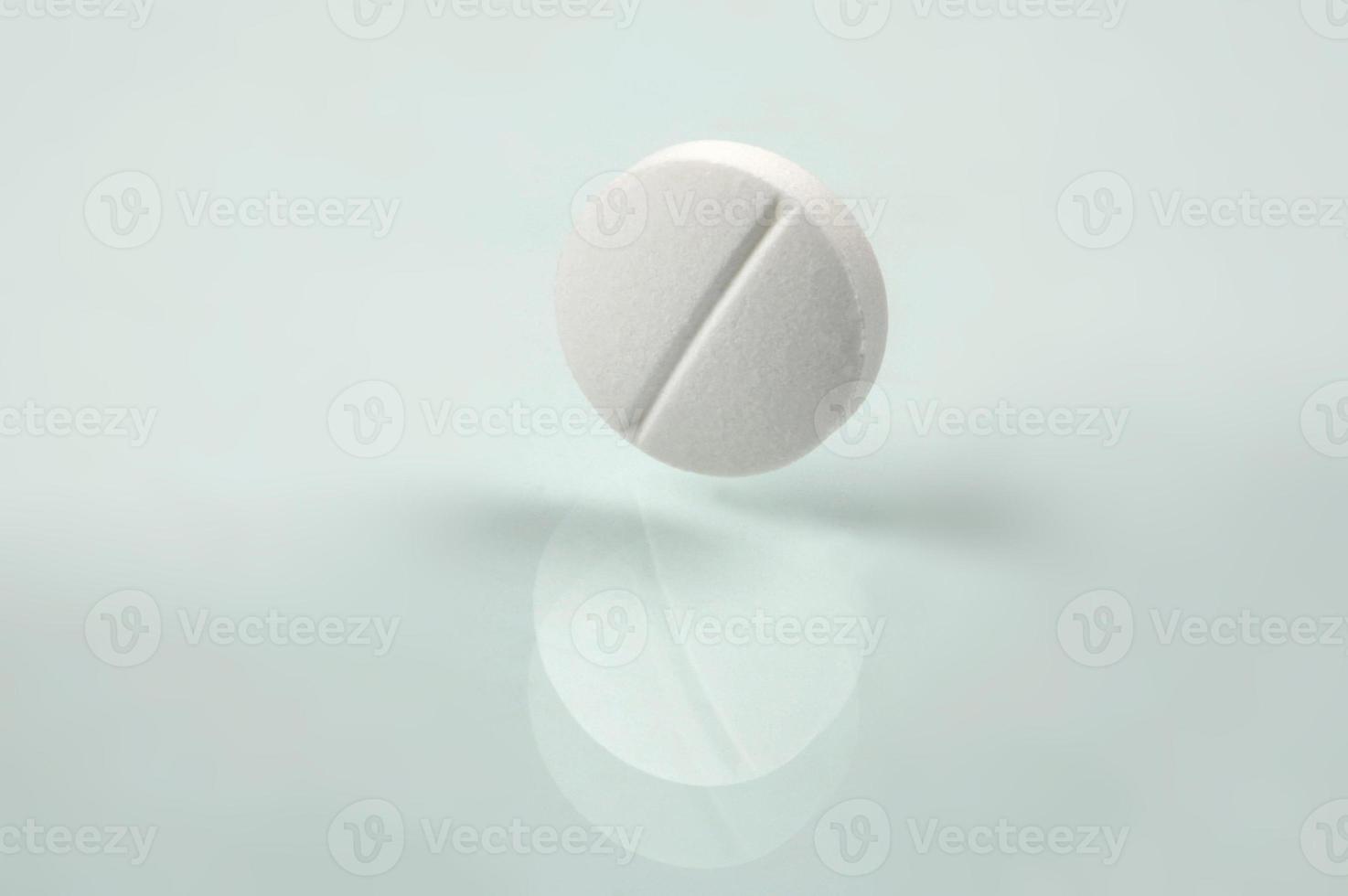 weiße Pille foto