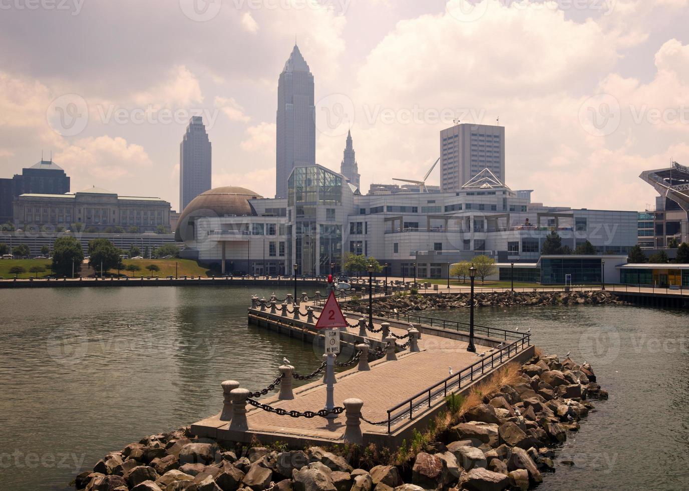 Cleveland vom Eriesee foto