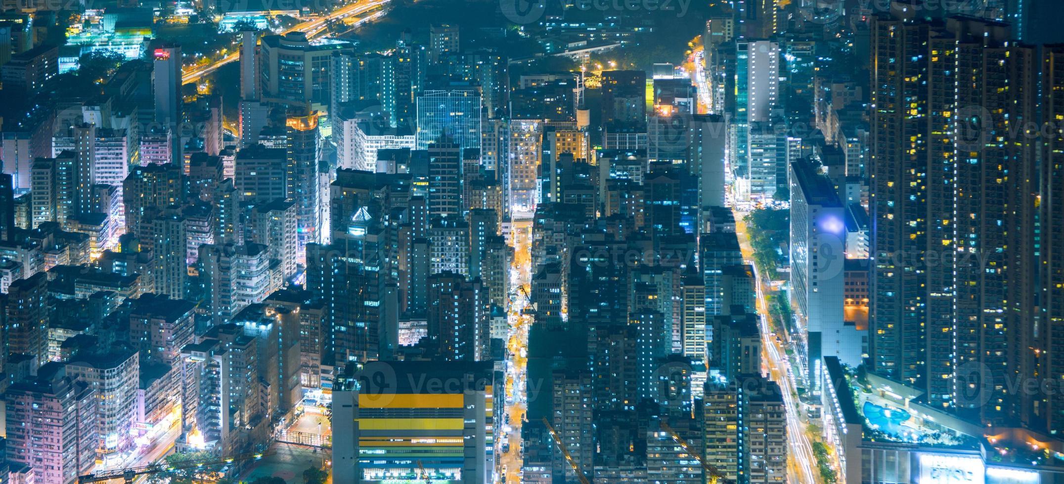 Wohngebiet Hongkong foto
