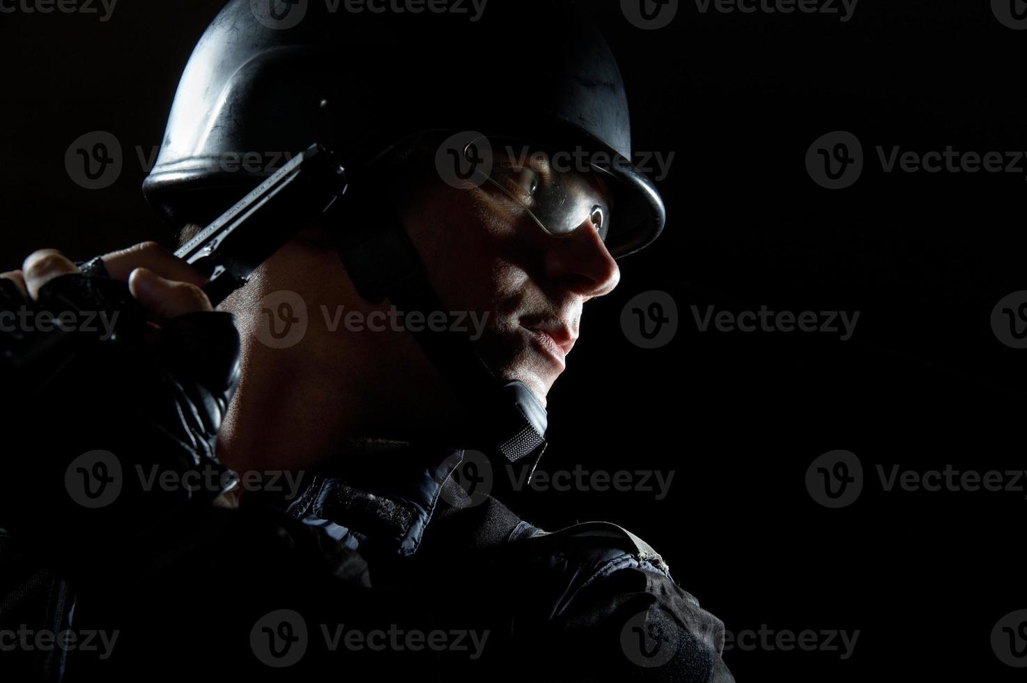 Schlag in die Dunkelheit foto