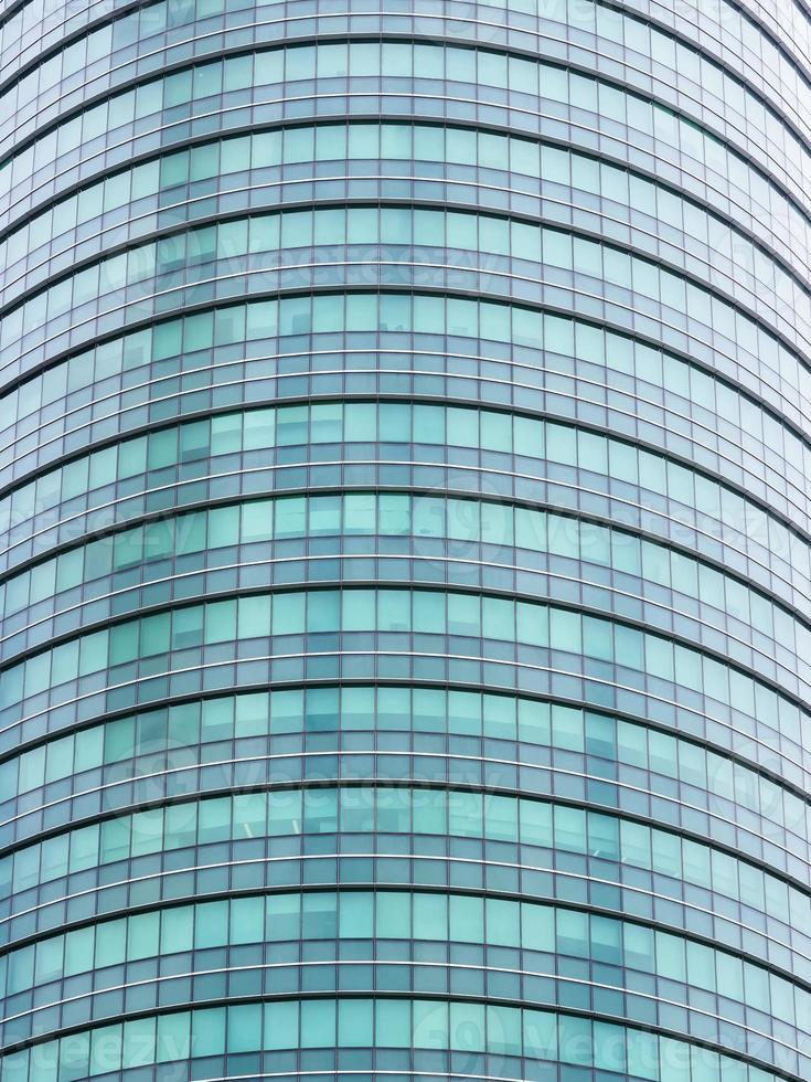 Glasfassadenarchitektur Gebäude außen foto