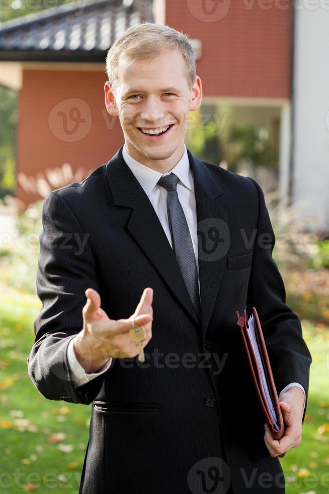 eleganter Agent foto