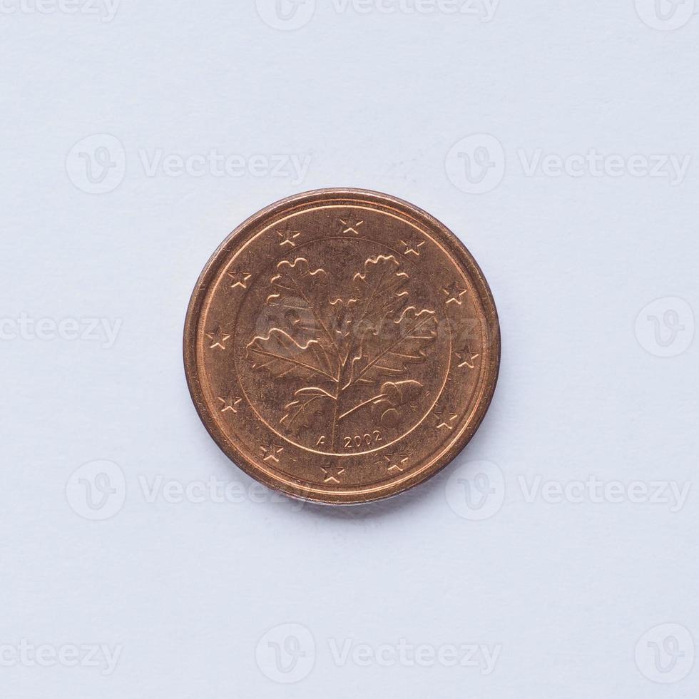 deutsche 1 Cent Münze foto