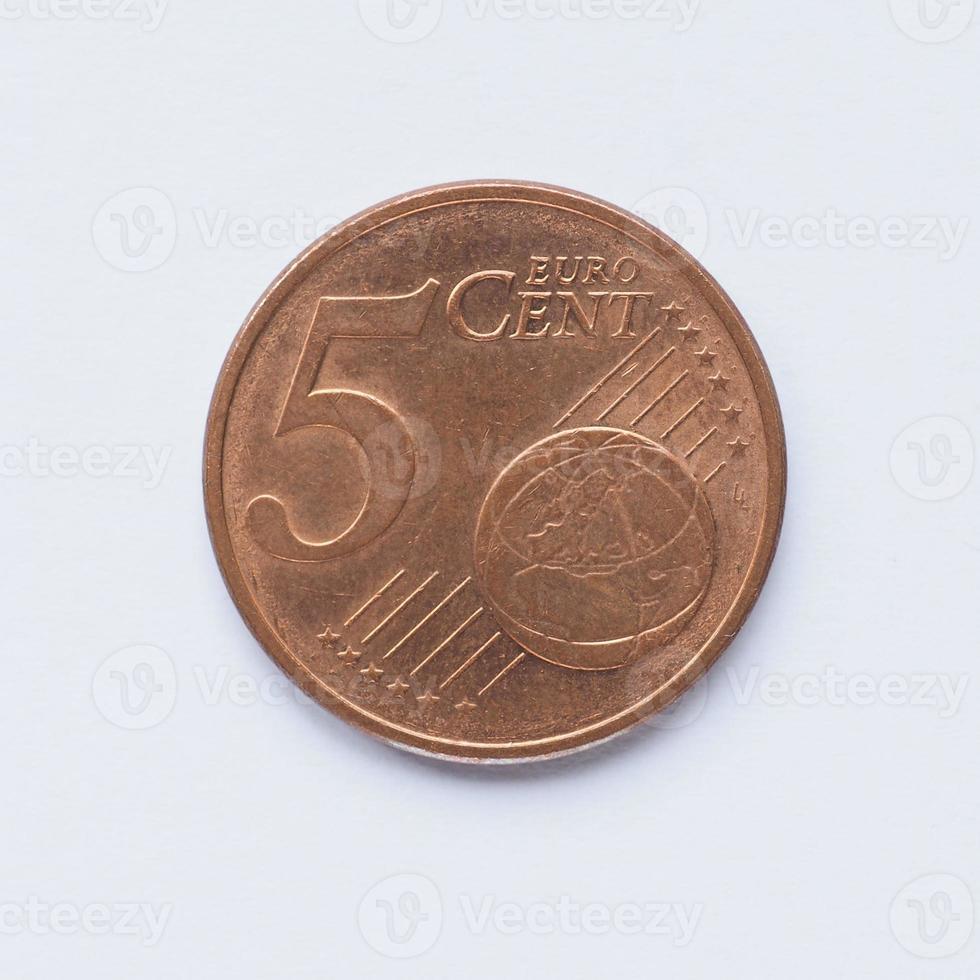 5 Cent Münze foto
