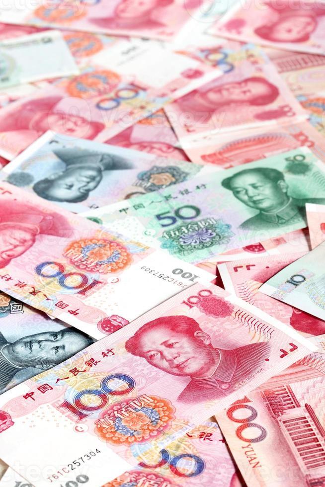 Chinesische Yuan foto