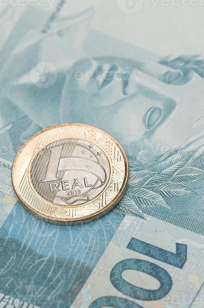 brasilianische Währung - echt foto