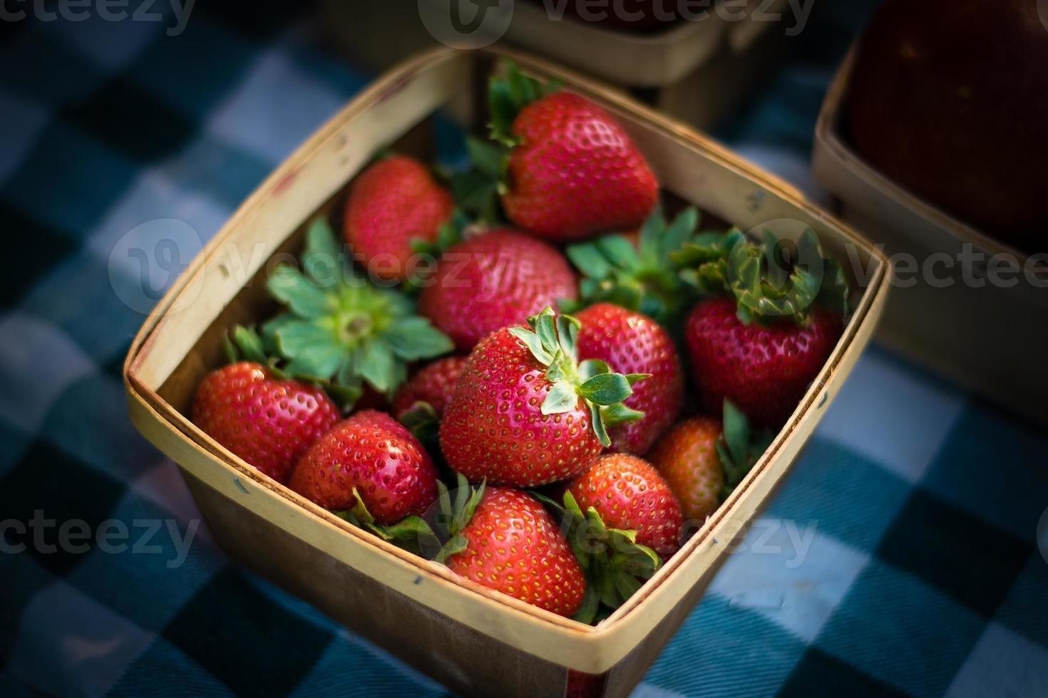 Erdbeerkorb foto
