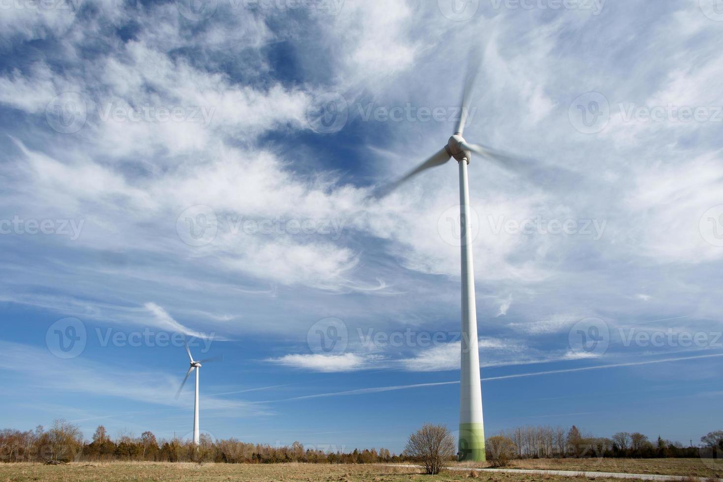 Erzeugung erneuerbarer Energien foto
