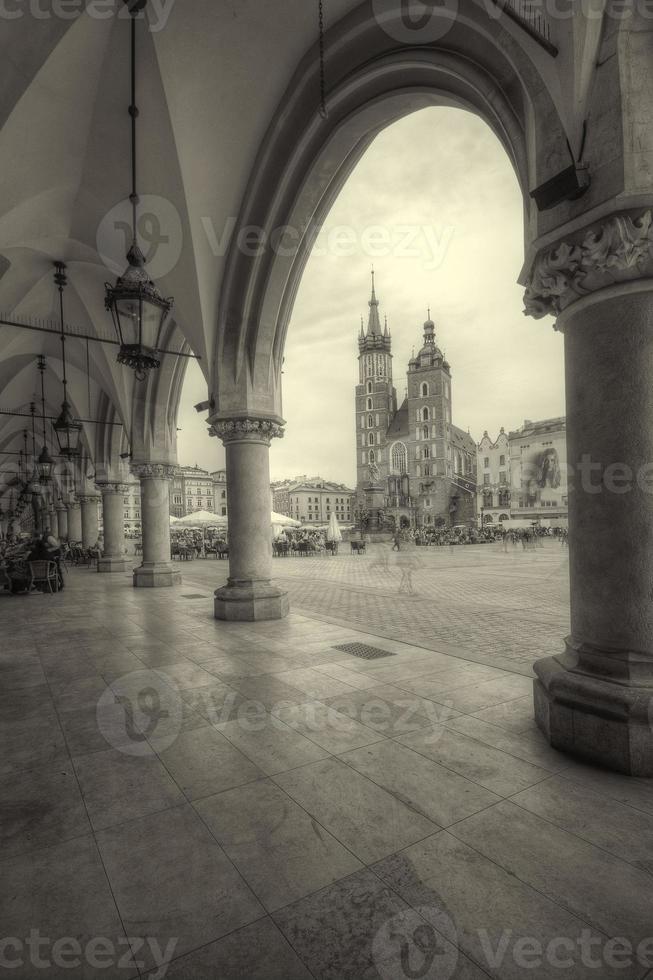 die tuchhalle krakow, polen. foto