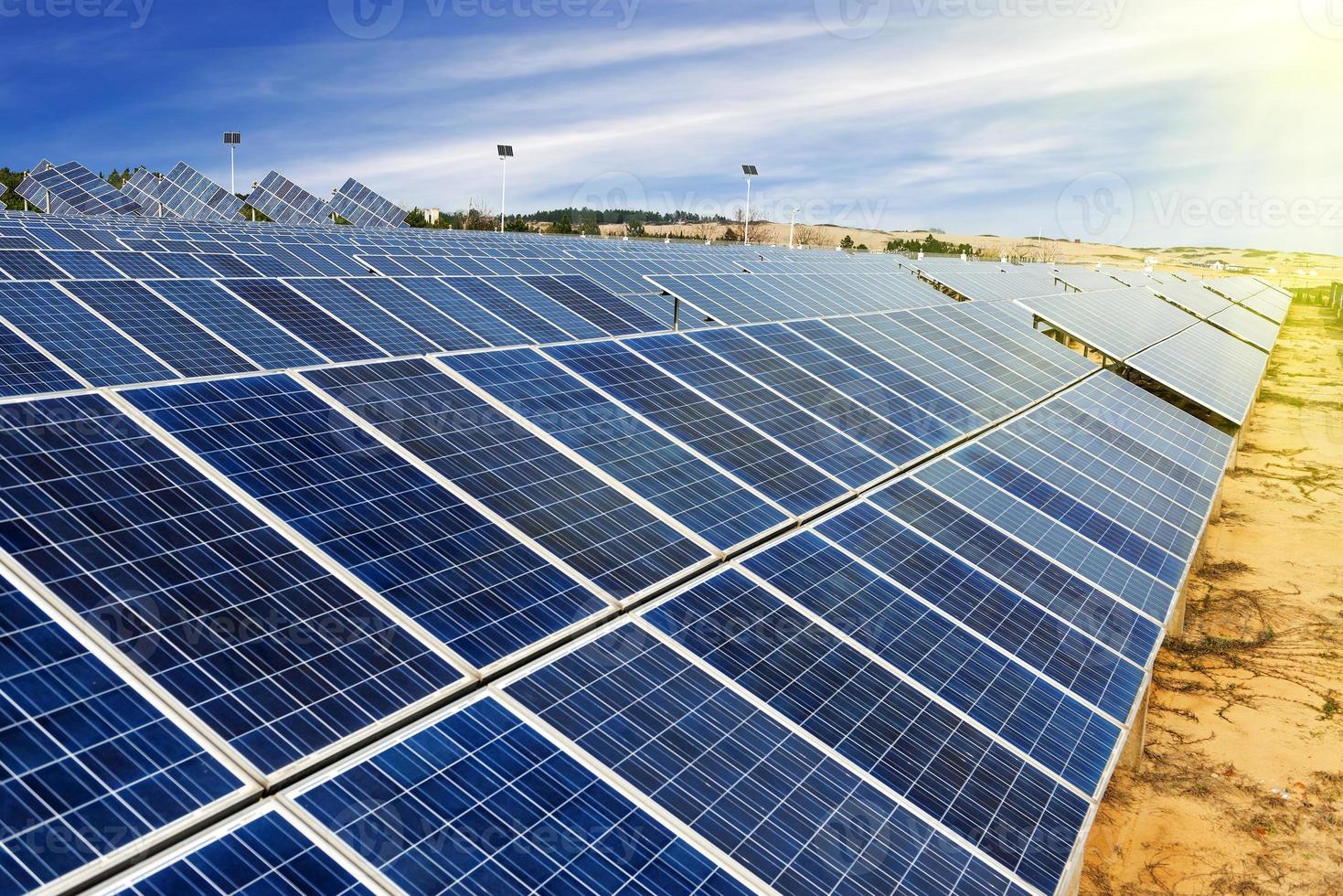 Photovoltaik-Zellen foto