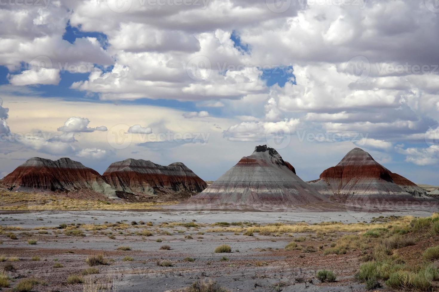 gemalte Wüste foto