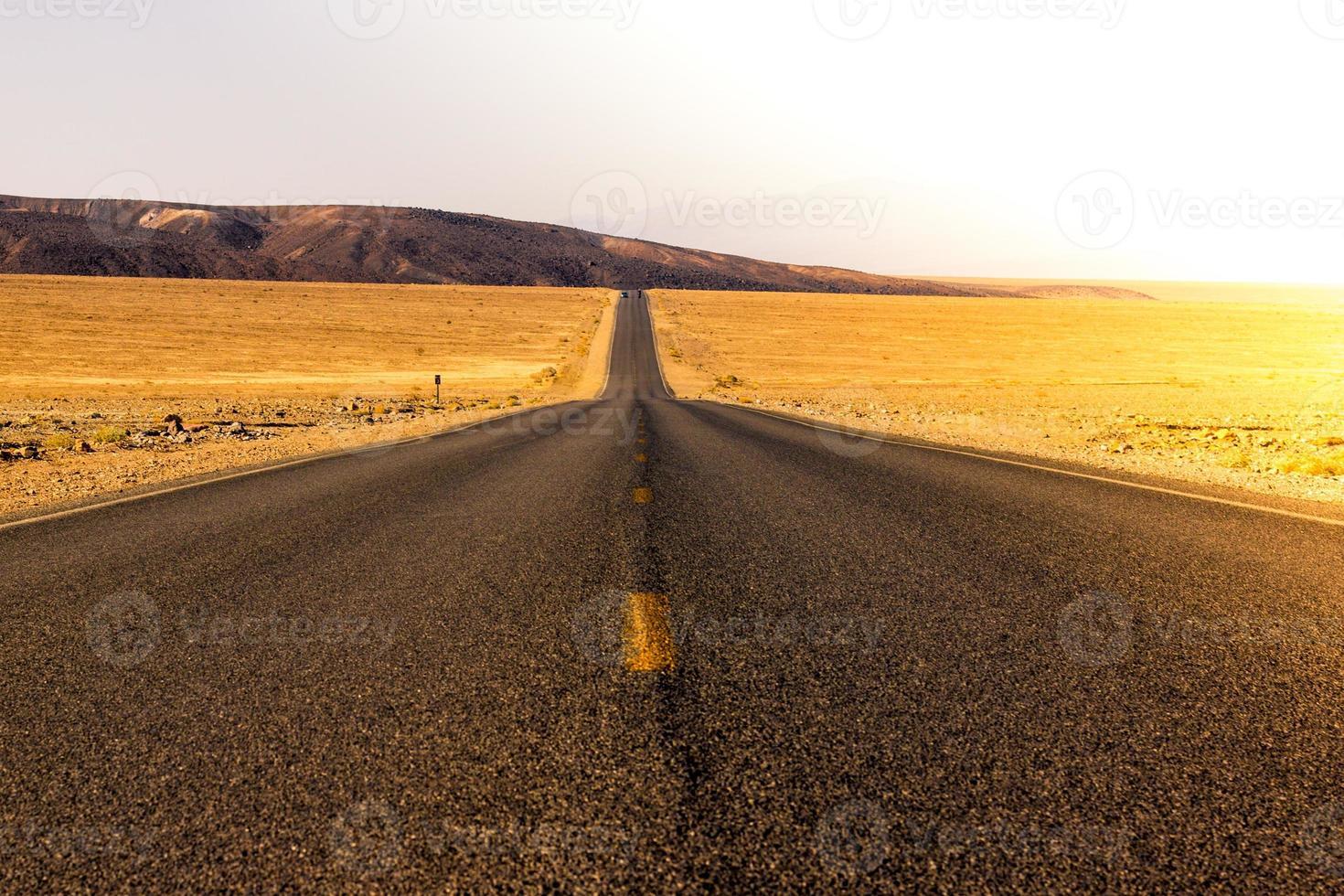Wüstenstraße foto