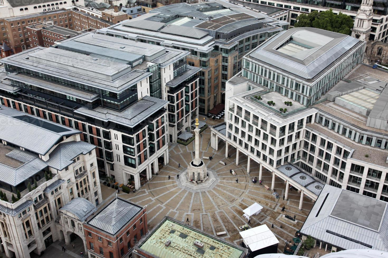 London von St. Pauls Kathedrale, Großbritannien. foto
