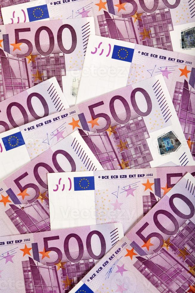 Hintergrund der europäischen Währung foto
