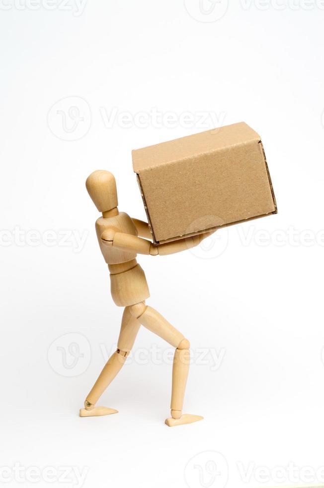 Dummy mit Pack foto