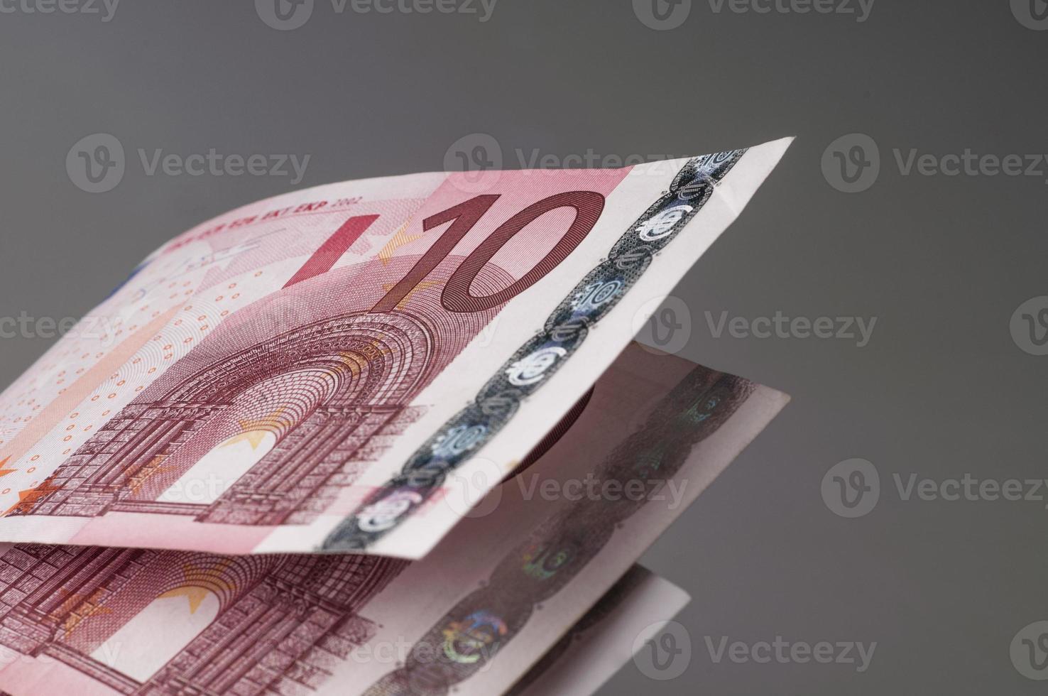 zehn Euro-Banknoten foto