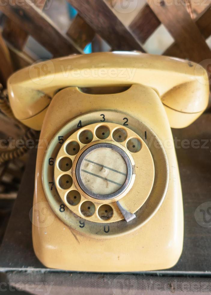 Retro-Telefon foto