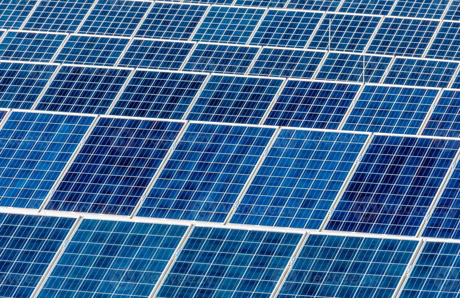 Solarkraftwerk foto