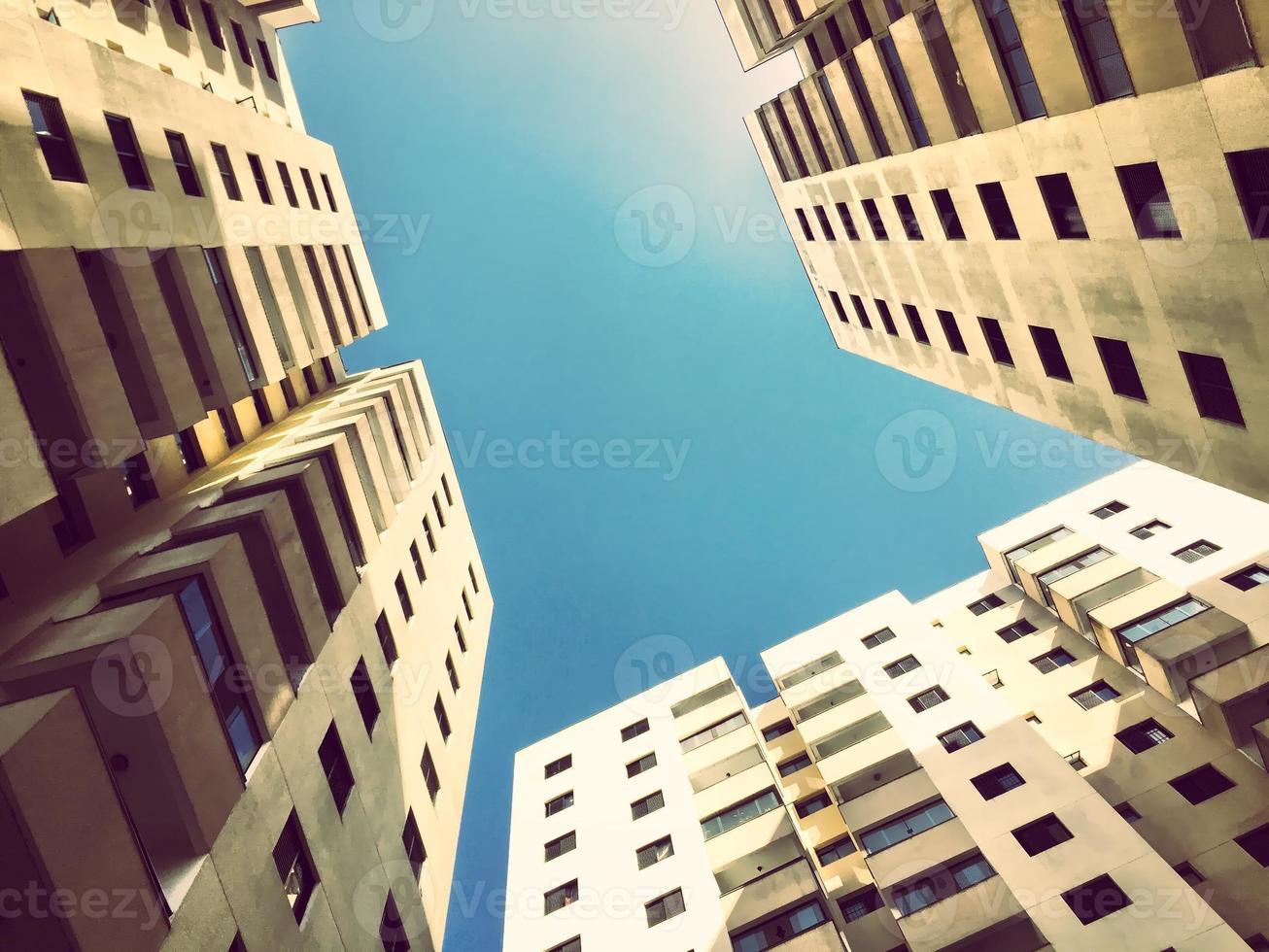 moderne Stadtarchitektur foto
